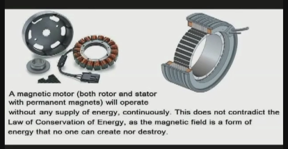 Steven hawkins a magnet motor